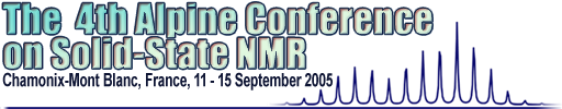 The 4th Alpine Conference on Solid State NMR